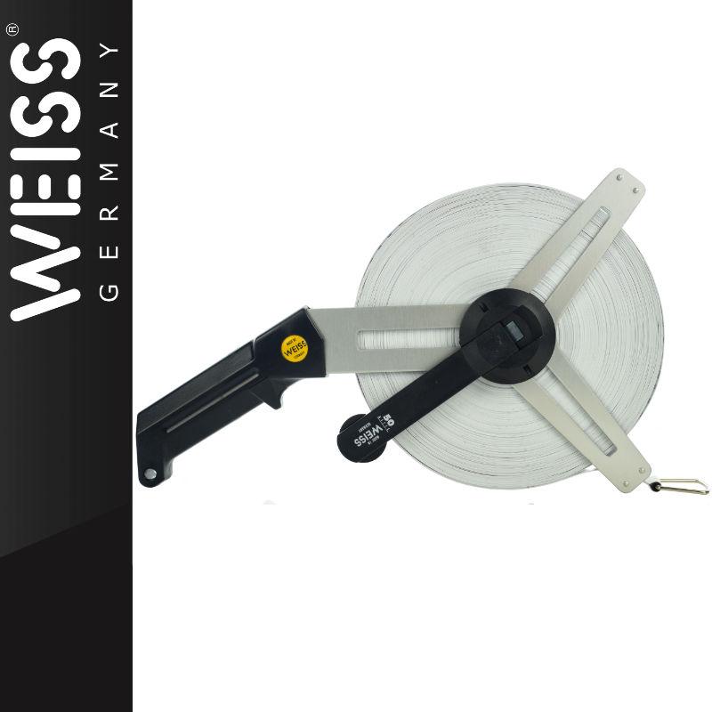 Taśma fiberglasowa bez rozbiegu 50m WEISS