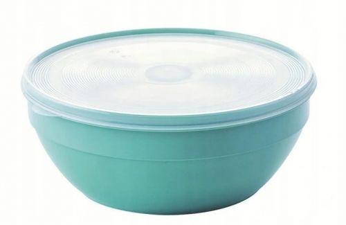 Okrągły pojemnik na żywność z pokrywą 2,5 l