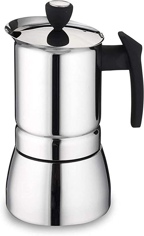 Cafe Ole ekspres do kawy espresso, stal nierdzewna, srebrny, 9 filiżanek