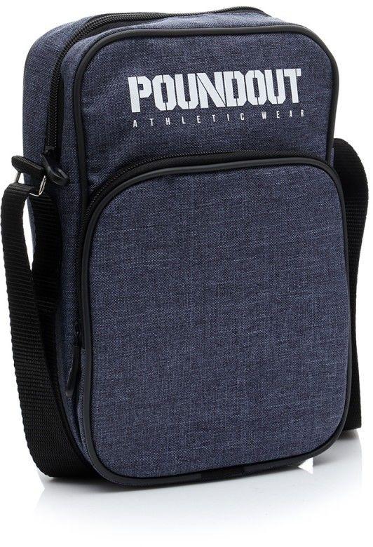 Poundout torba męska na ramię jeans