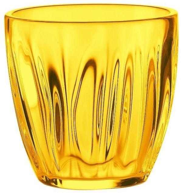 Guzzini - komplet 2 szklanek do wody 0,35 l - aqua - żółty