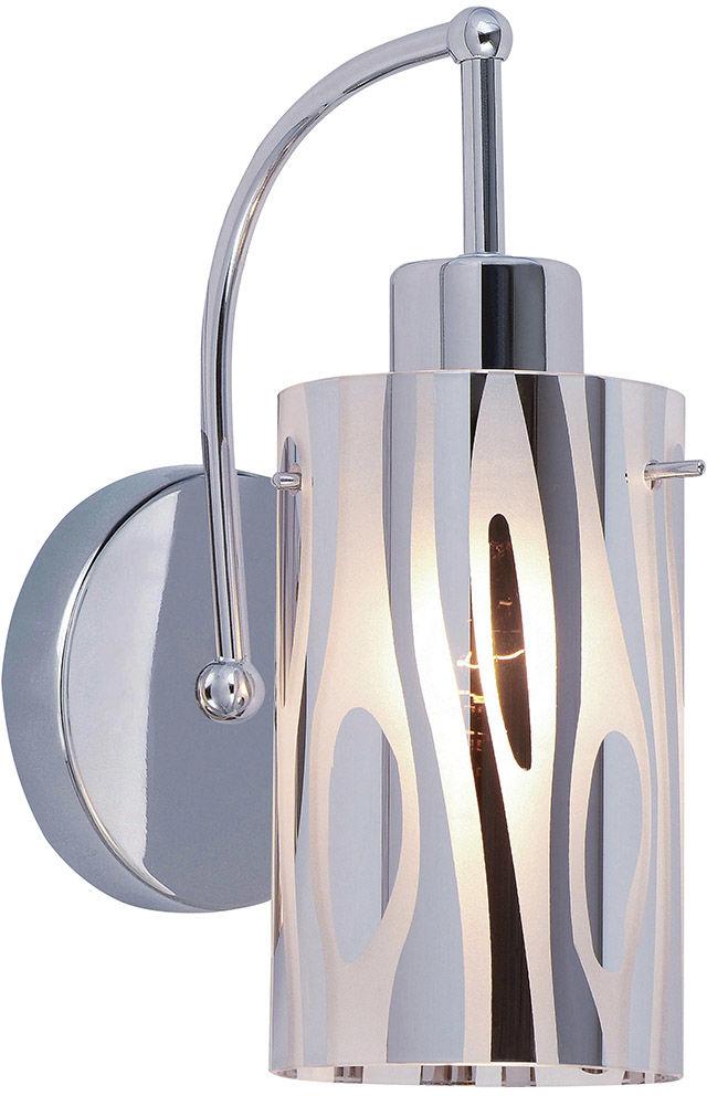 Italux kinkiet lampa ścienna Triplet MBM1575/1CR chrome szkło