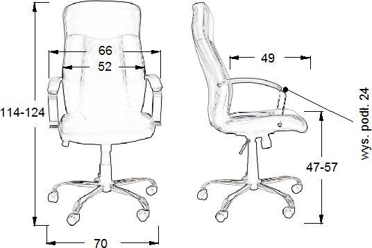 ZH-9152 fotel gabinetowy