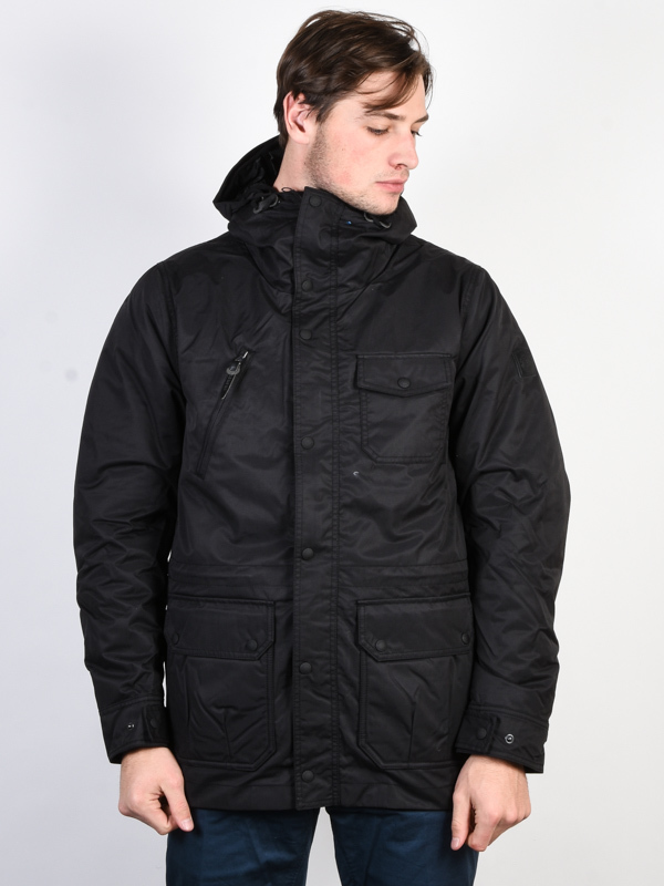 Element LENOX FLINT BLACK mens kurtka zimowa