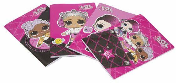 Giochi Preziosi Lol19 notatnik Maxi A4 Lineatur 0Q (karo 1A 2A 3A wielokolorowy, 8056379072867