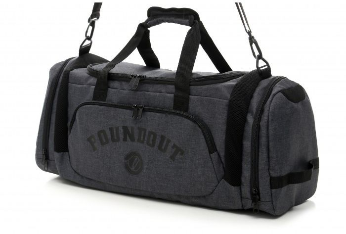 Poundout torba sportowa szara