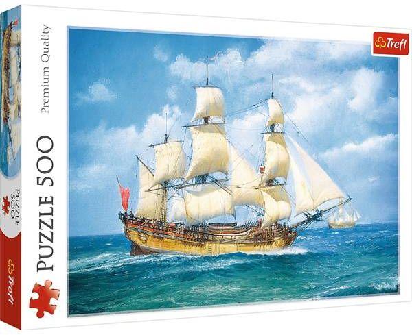 Puzzle 500 Morska podróż 37399 - Trefl PAP