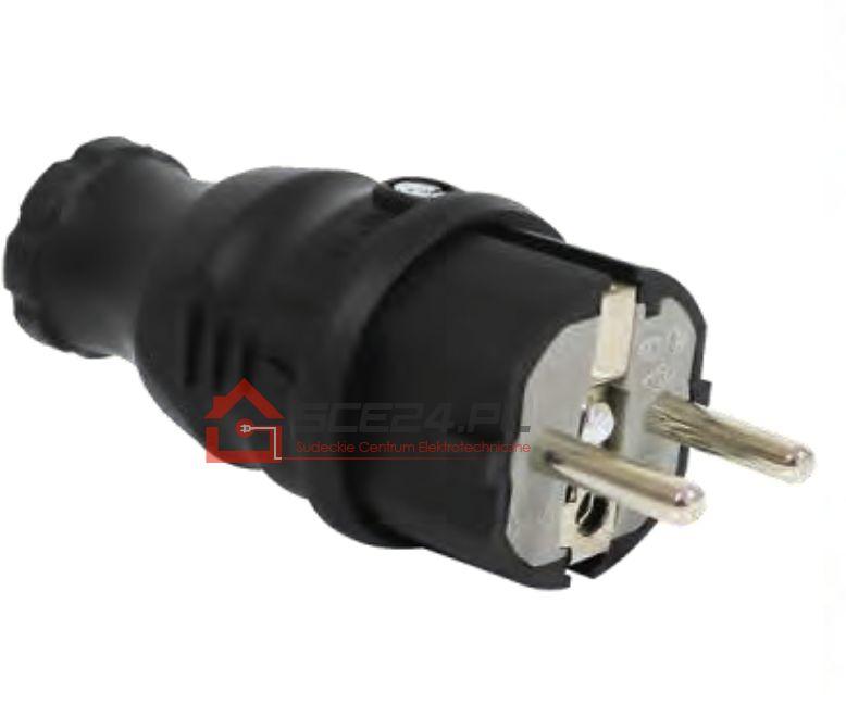 Wtyczka gumowa 230V IP44 F