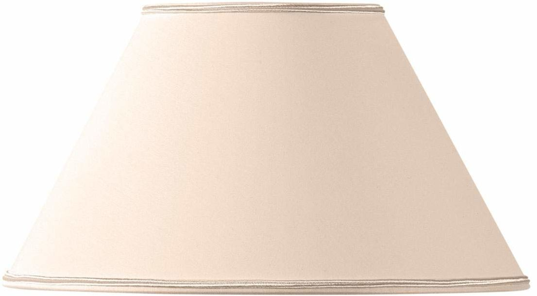 Klosz lampy w kształcie wiktoriańskim, Ø 35 x 15 x 21 cm, beżowy/różowy