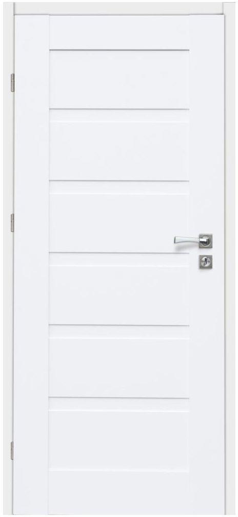 Skrzydło drzwiowe ETNA Białe 70 Lewe ARTENS