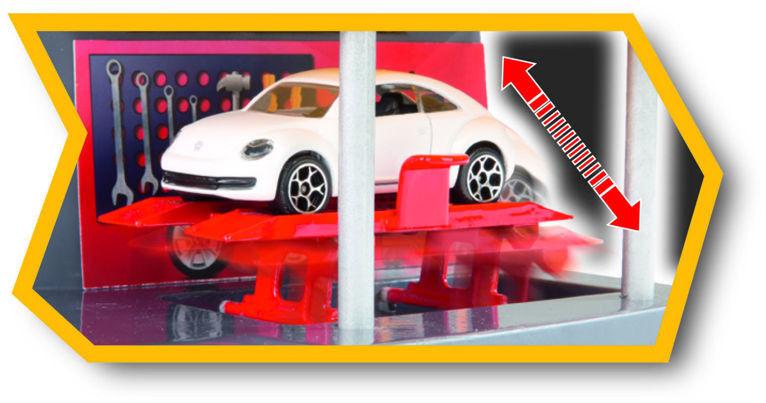 Majorette - Motor City Garaż z autkiem 2058211