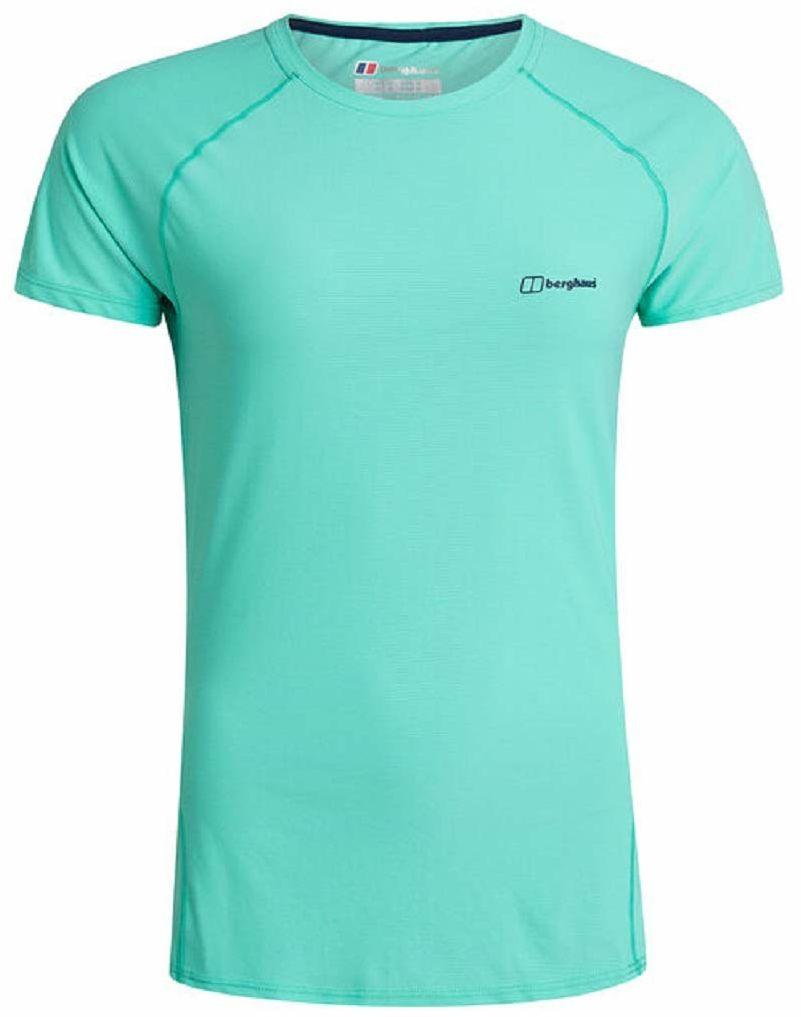 Berghaus damska koszulka sportowa z krótkim rękawem 24/7, opalowa, 18