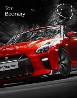 Jazda za kierownicą Nissana GT-R  Tor Bednary