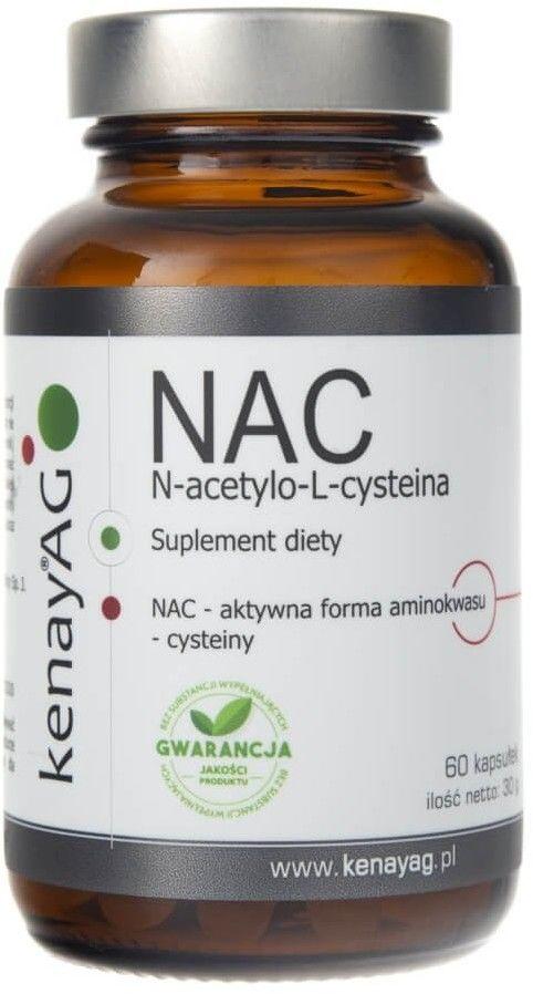 Kenay NAC N-acetylo-L-cysteina 150 mg - 60 kapsułek