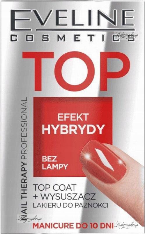 Eveline Cosmetics - Nail Therapy Professional - Top coat i wysuszacz lakieru do paznokci - 5 ml