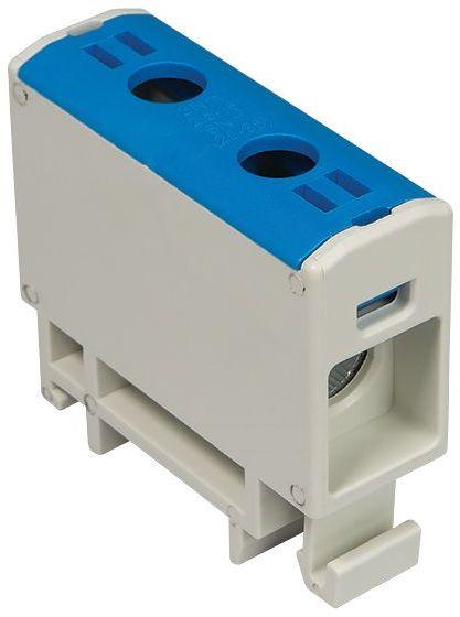 Złączka szynowa przelotowa 2-przewodowa 2,5-16mm2 niebieska WLZ35P/16/n 48.516