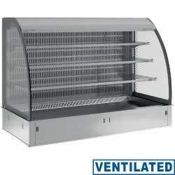 Regał chłodniczy 3-półki wentylowany 3x GN 1/1y 230V -1  +7  1125x700x(H)1415mm