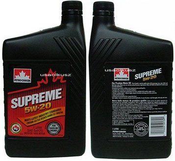 Olej silnikowy mineralny SUPREME 5W20 1l