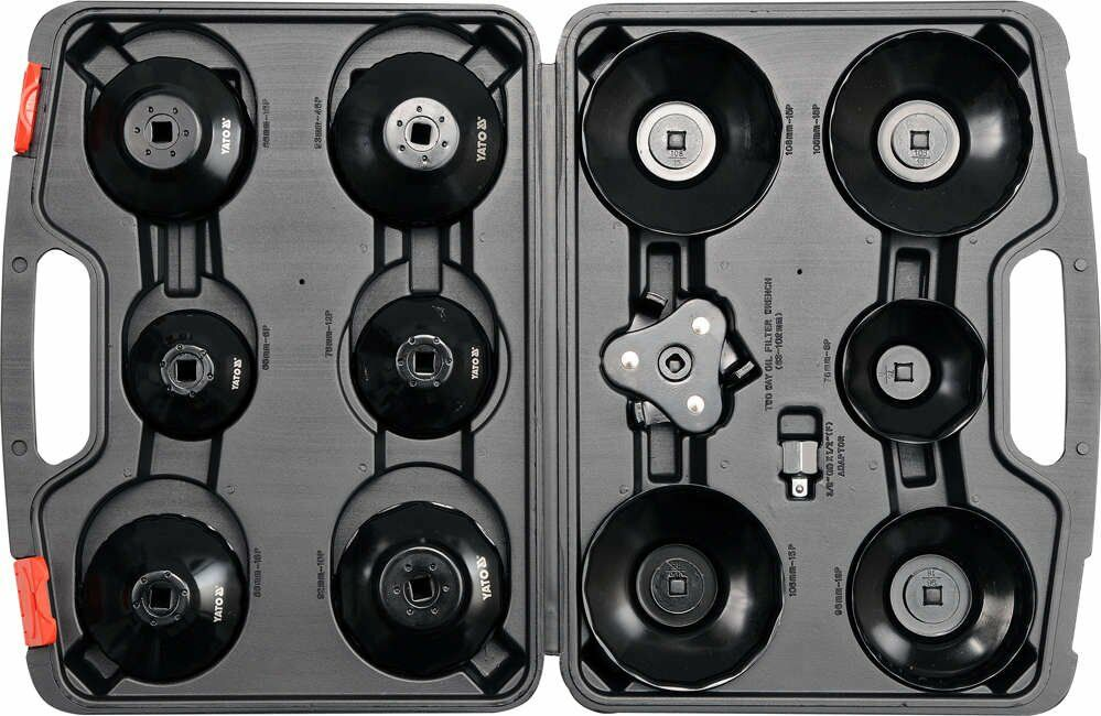 Klucze nasadowe do filtrów oleju kpl.13 szt. Yato YT-0594 - ZYSKAJ RABAT 30 ZŁ