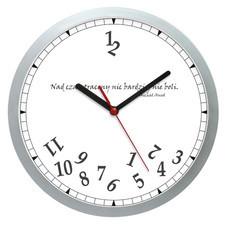 Zegar ścienny plastik czas stracony