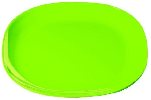 Guzzini - mały talerzyk - happy hour - zielony - zielony