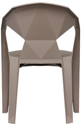 UNIQUE Krzesło MUZE TAUPE