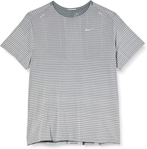 Nike T-shirt męski Techknit Ultra męski Smoke Grey/Lt Smoke Grey/Refle M