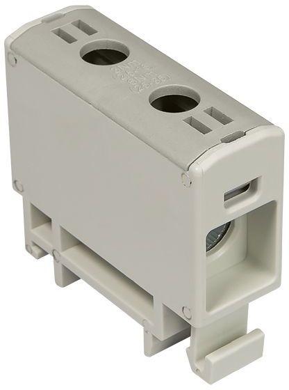 Złączka szynowa przelotowa 2-przewodowa 2,5-16mm2 szara WLZ35P/16/s 48.517