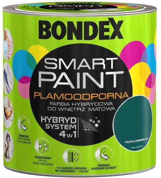 Farba hybrydowa Bondex Smart Paint piękna Esmeralda 2,5 l