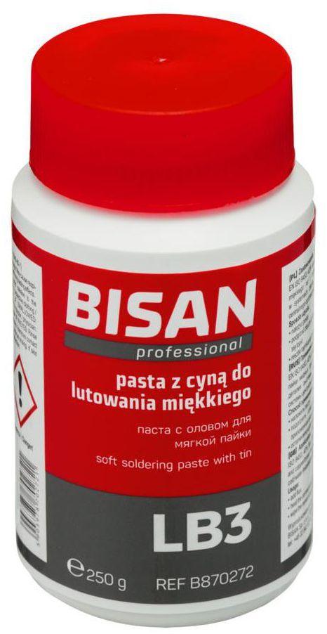 Pasta lutownicza LB3 250 g BISAN