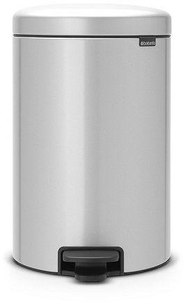 Kosz pedałowy NEWICON 20L Metallic Grey