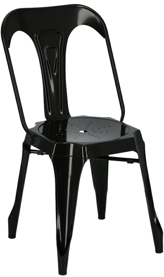 Krzesło ROME czarne