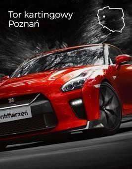 Jazda za kierownicą Nissana GT-R  Tor kartingowy Poznań