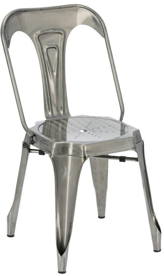 Krzesło ROME metaliczny