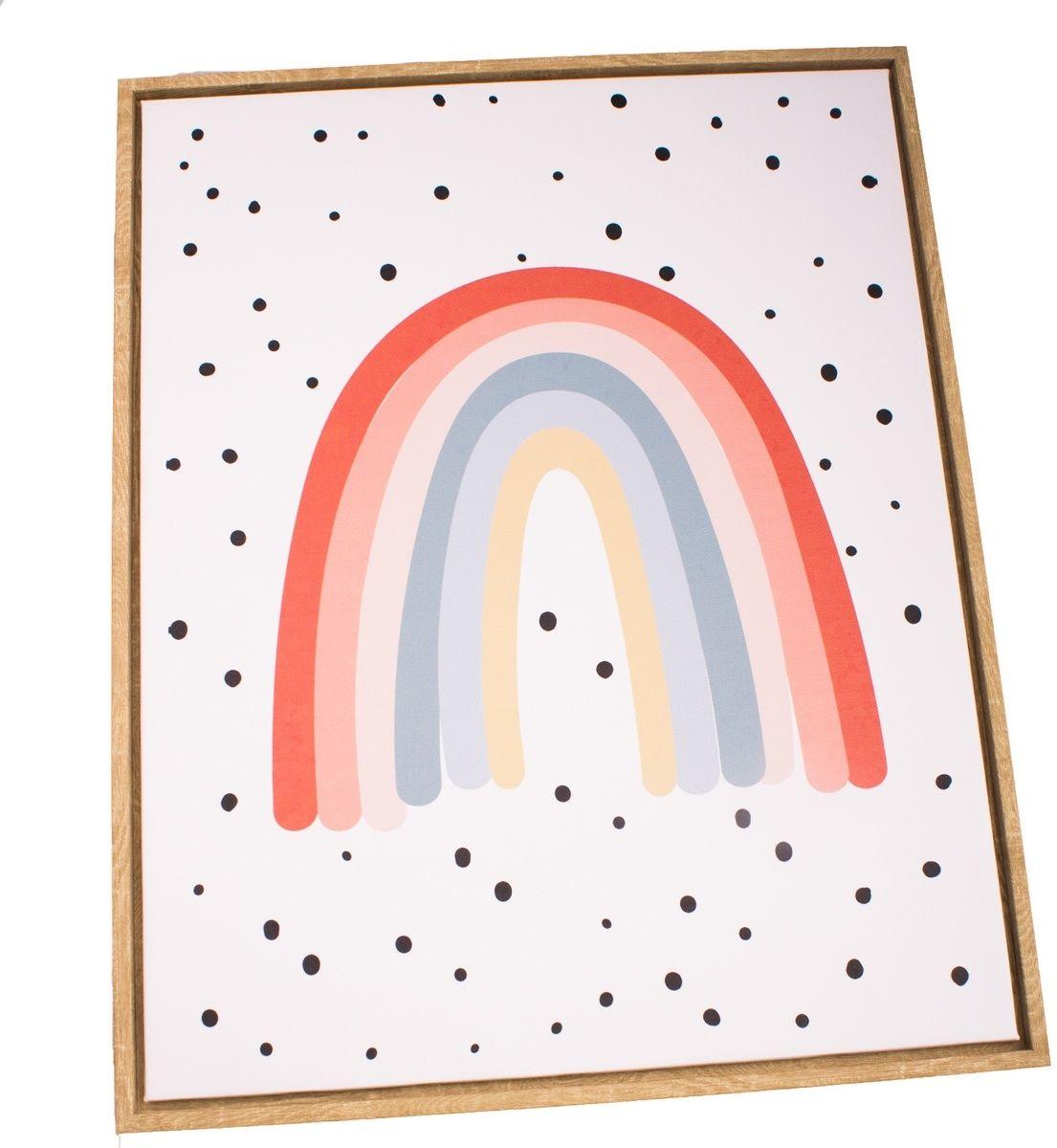 Obraz na płótnie w ramie Rainbow, 40 x 50 cm