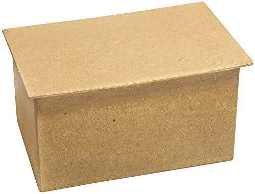 Rayher 67144000 karton z pudełkiem do taśm washi, FSC Rec. 100%, 13x8,5x7,5cm