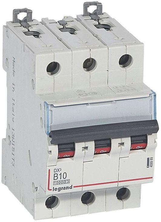 Wyłącznik nadprądowy 3P B 10A 10kA S313 DX3 408989