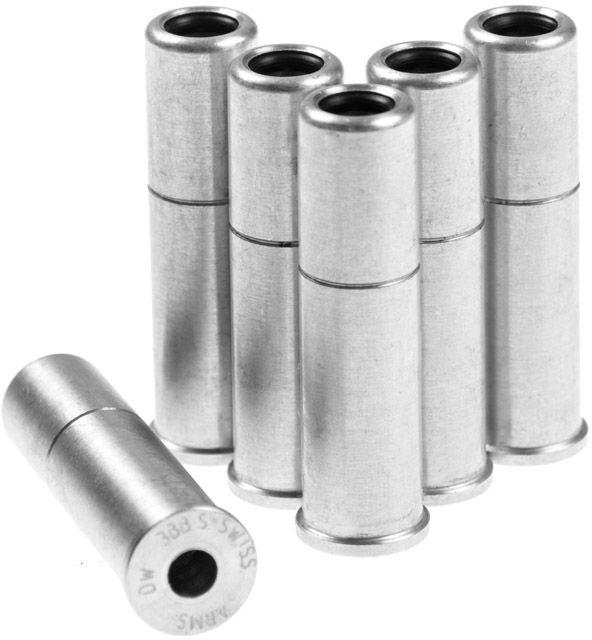 Zapasowa łuska 3-shot do rewolwerów ASG Dan Wesson/Ruger/Colt Python - 6 szt. (605026)