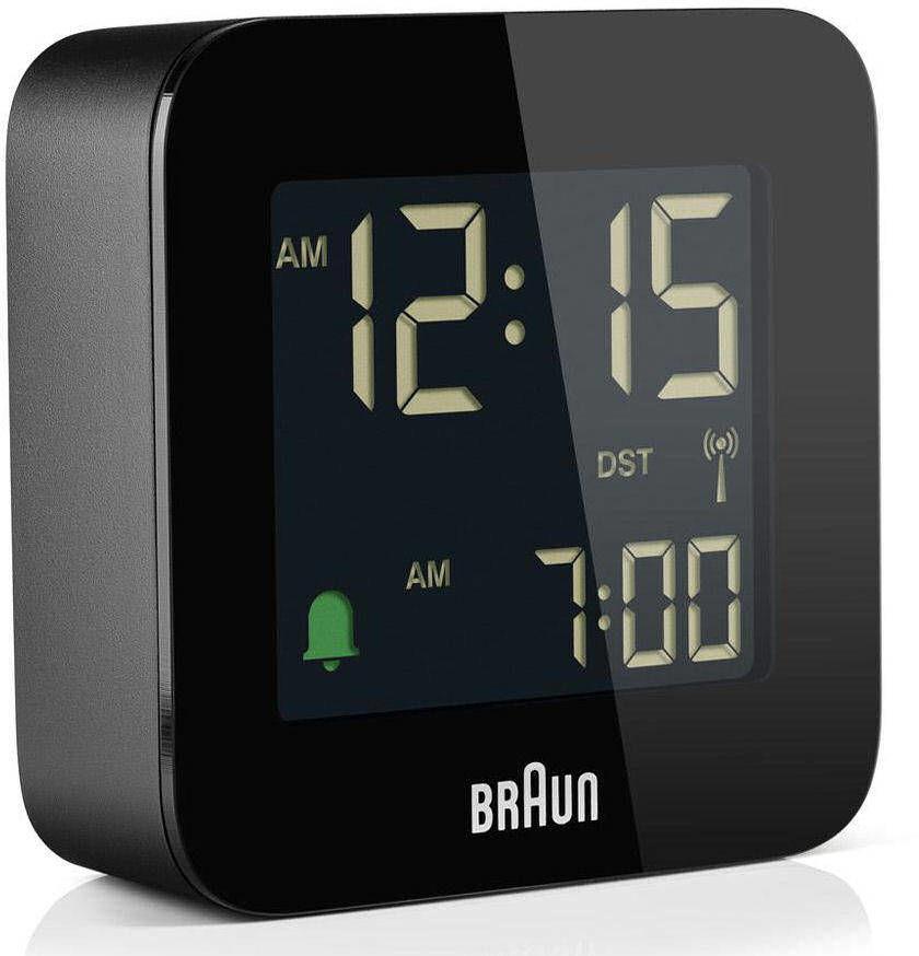 Budzik sterowany radiowo Braun BC08B-RC DCF77