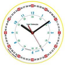 Mój edukacyjny zegar ścienny