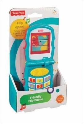 Fisher Price - Telefonik dźwiękowy z klapką Y6979