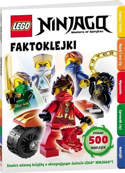 LEGO ® Ninjago. Faktoklejki - praca zbiorowa