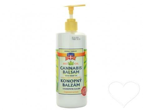 Balsam konopny regeneracyjny do pielęgnacji suchej skóry 8% oleju z konopi 500ml