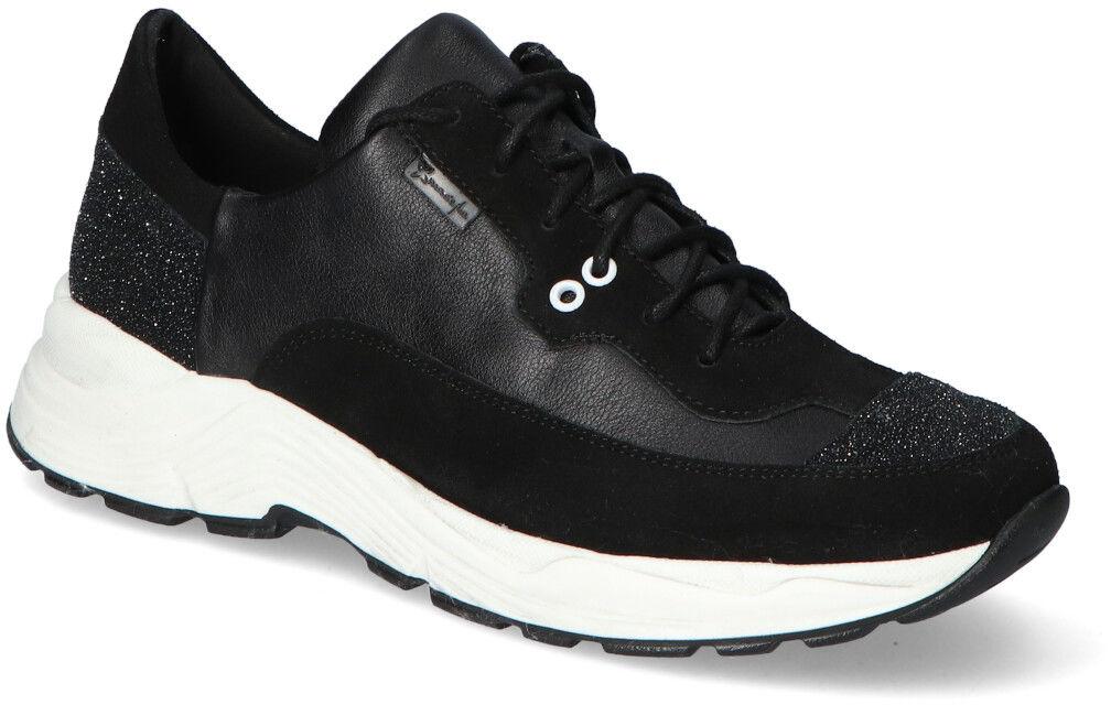 Sneakersy Maciejka 04845-01/00-7 Czarne lico+zamsz