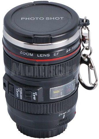 Kieliszek w kształcie obiektywu Lens Cup Photo Shot