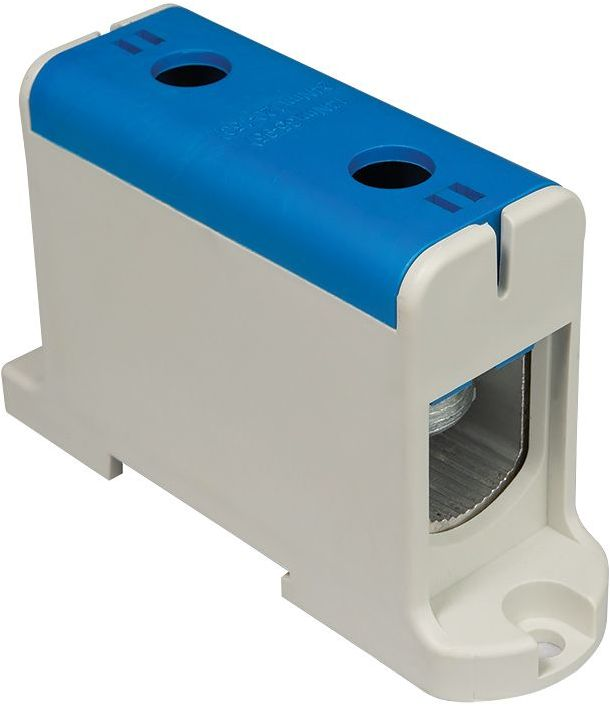 Złączka szynowa przelotowa 2-przewodowa 35-150mm2 niebieska WLZ35P/150/n 48.505