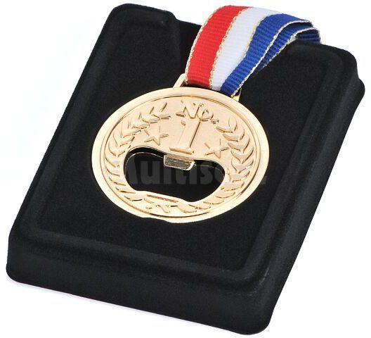 Otwieracz do butelek w kształcie medalu olimpijskiego