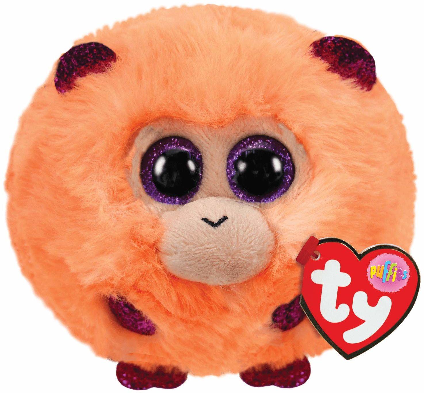 Ty UK Ltd 42514 Pluszowa zabawka z małpą kokosową, wielokolorowa, 7 cm