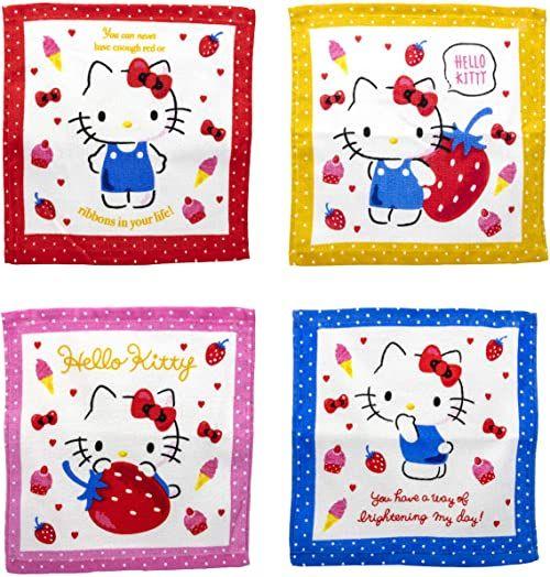 Joy Toy 20611 Hello Kitty magiczny ręcznik, wielokolorowy