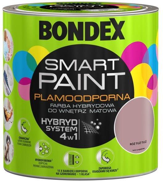 Farba hybrydowa Bondex Smart Paint róż tuż tuż 2,5 l